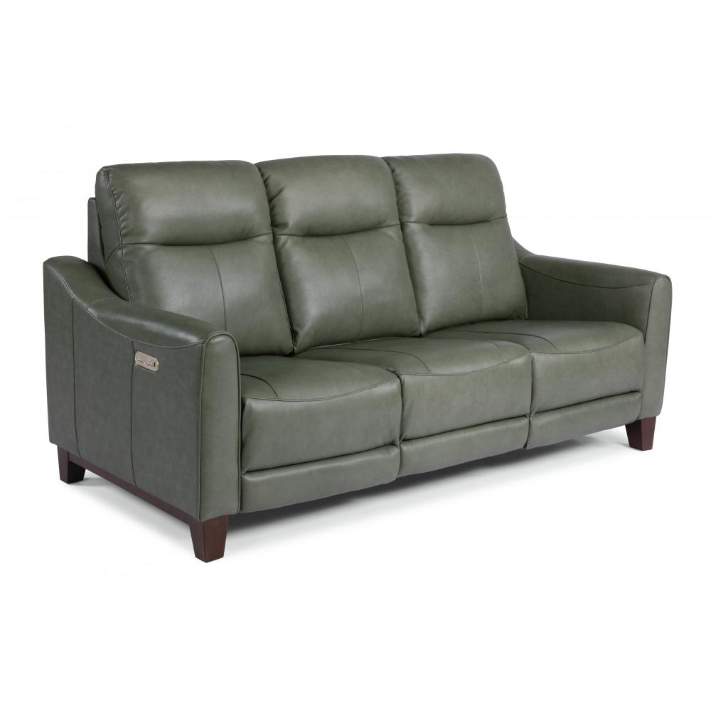 Forte Power Reclining Sofa with Power Headrests