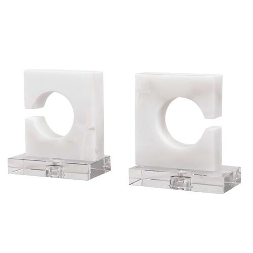Clarin Bookends, S/2