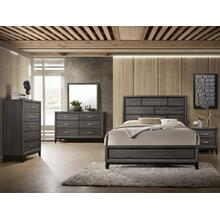 Akerson Grey Bedroom