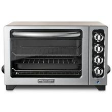 """See Details - 12"""" Countertop Oven - Cocoa Silver"""