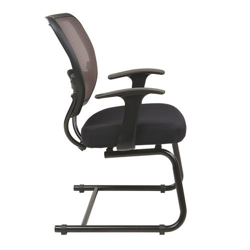 Professional Latte Airgrid Back Visitors Chair