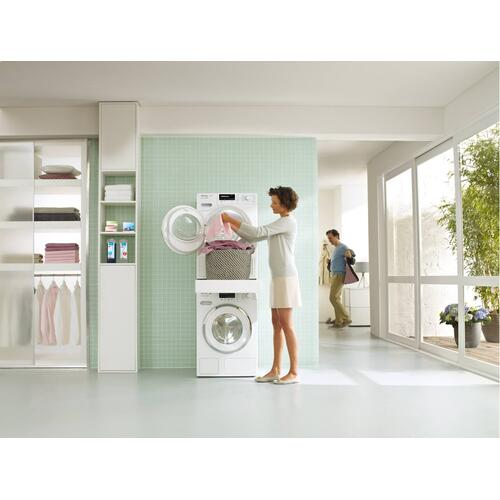 WTV 512 - Washer-dryer stacking kit with integrated drawer for a particularly convenient washer-dryer stack.