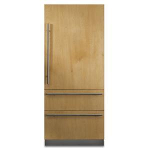 "Viking36"" Custom Panel Fully Integrated Bottom-Freezer Refrigerator - FBI7360W Viking 7 Series"