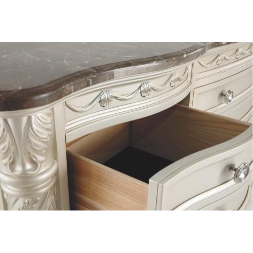 Cassimore Dresser and Mirror