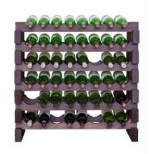 6 x 8 Bottle Modular Wine Rack (Stained)