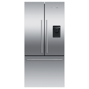 "Fisher & PaykelFreestanding French Door Refrigerator Freezer, 32"", 17 cu ft, Ice & Water"