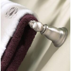 "Kingsley brushed nickel 24"" towel bar"