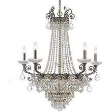 Majestic 13 Light Swarovski Strass Crystal Brass Chandelier