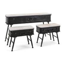Calumet Console with Accent Tables - Set of 3