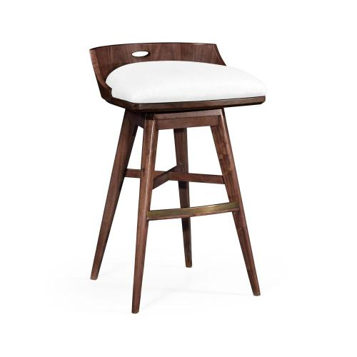 """33"""" Height bar chair upholstered in COM"""
