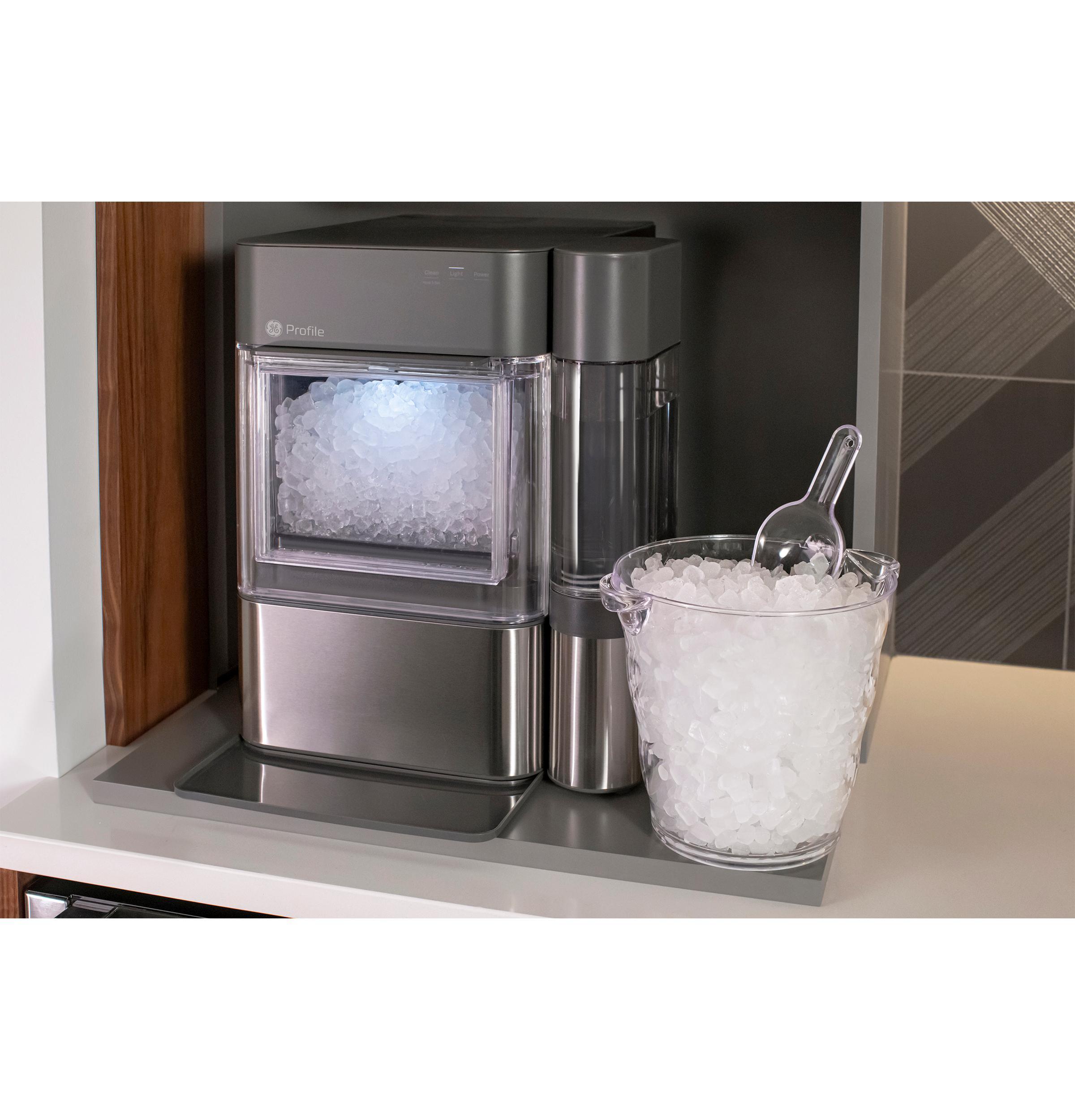 Xpio13bcbt Ge Profile Ge Profile Opal 2 0 Nugget Ice Maker Black Stainless Manuel Joseph Appliance Center