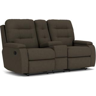 See Details - Kerrie Reclining Loveseat with Console