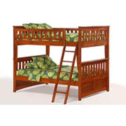 Night and Day Furniture - Ginger Full Full Bunk