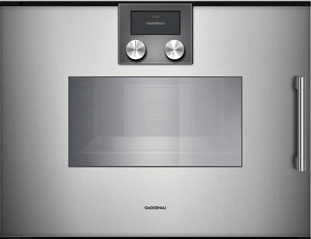 200 Series Combi-steam Oven 24'' Door Hinge: Left, Door Hinge: Left,  Metallic Photo #2