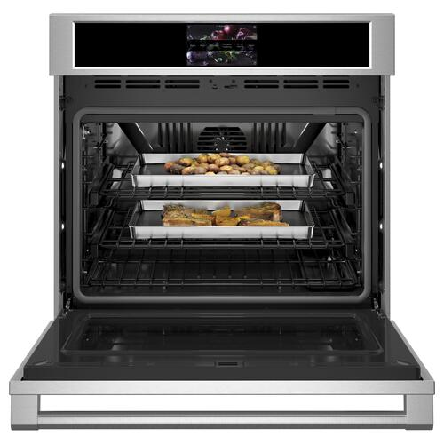 "Monogram 30"" Smart Electric Convection Single Wall Oven Statement Collection - Coming Spring 2021"