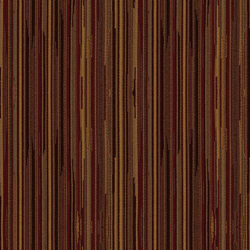 Flash Furniture - 18.5''W Church Chair in Canyon Cordovan Fabric - Gold Vein Frame