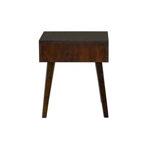 Forsythe End Table, Brown