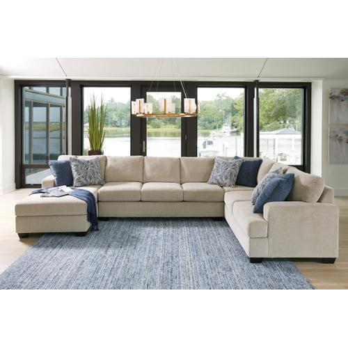 Ashley - Enola 4-piece Sectional With Chaise