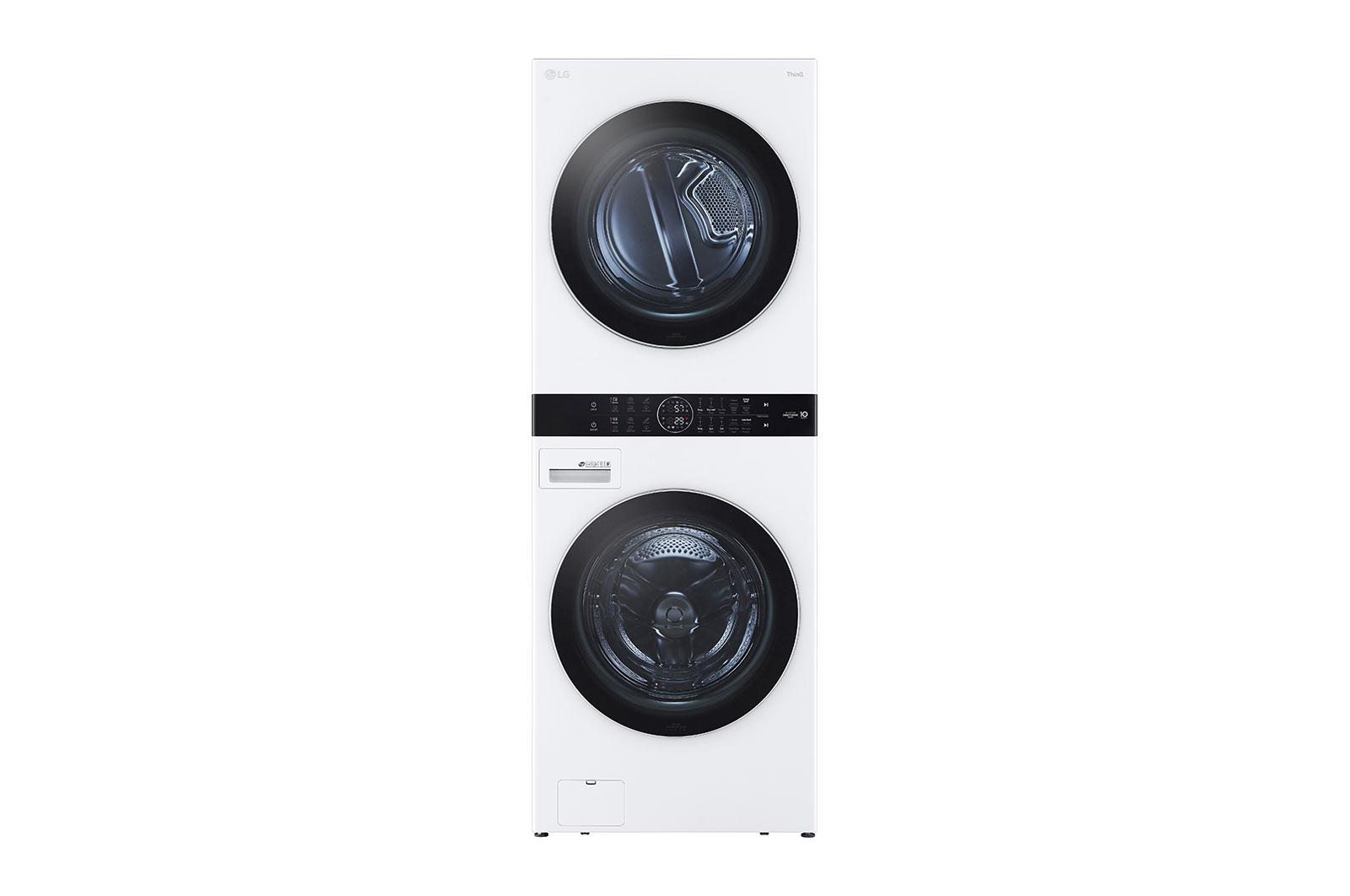 LG AppliancesSingle Unit Front Load Lg Washtower™ With Center Control™ 4.5 Cu. Ft. Washer And 7.4 Cu. Ft. Electric Dryer