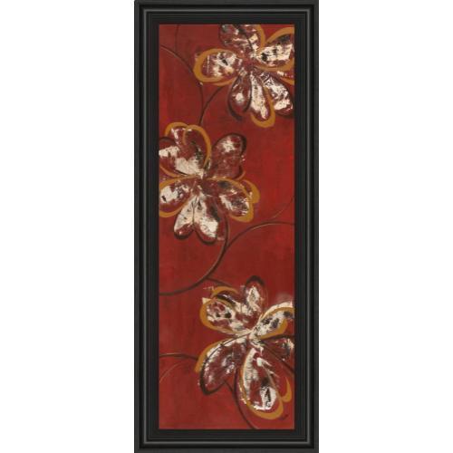 "Classy Art - ""Flowers Dancing Il"" By Katrina Craven Framed Print Wall Art"