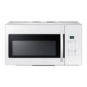 Samsung1.6 cu. ft. Over-the-Range Microwave in White