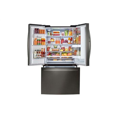 22 cu. ft. Smart wi-fi Enabled InstaView™ Door-in-Door® Counter-Depth Refrigerator