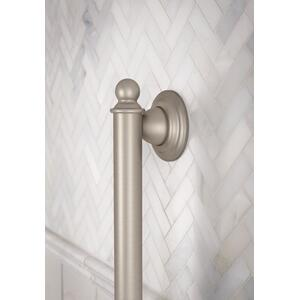 "Brantford brushed nickel 18"" designer grab bar"