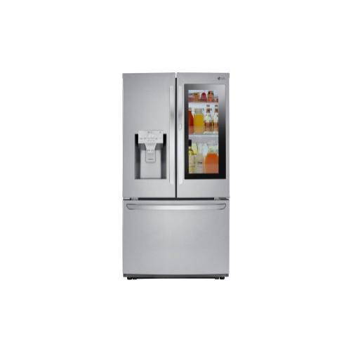 Product Image - 26 cu. ft. Smart wi-fi Enabled InstaView™ Door-in-Door® Refrigerator