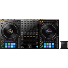 4-channel professional DJ controller and DMX lighting interface for rekordbox dj