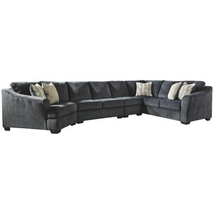 See Details - Eltmann 4-piece Sectional With Cuddler