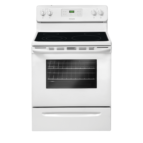 Product Image - Refurbished Frigidaire 30'' Freestanding Electric Range. (This is a Stock Photo, actual unit (s) appearance may contain cosmetic blemishes.  Please call store if you would like actual pictures).  This unit carries our 6 month warranty, MANUFACTURER WARRANTY and REBATE NOT VALID with this item. ISI 44804