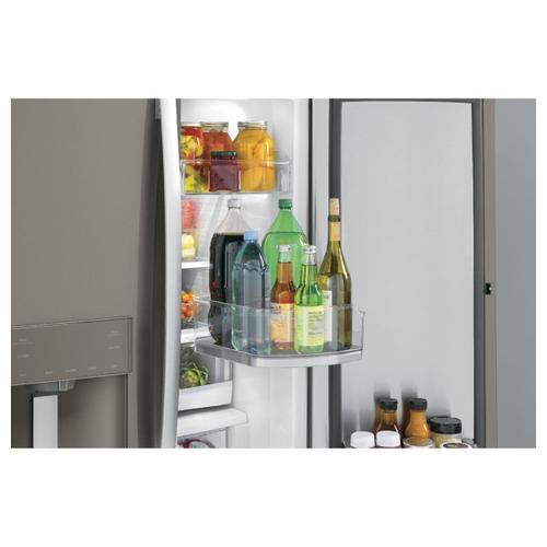 GE Appliances - GE® 27.8 Cu. Ft. French-Door Refrigerator with Door In Door