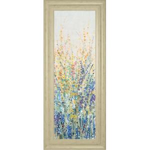 "Classy Art - ""Wildflower Panel I"" By Tim Otoole Framed Print Wall Art"
