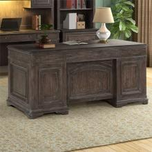 Left Double Pedestal Desk Base