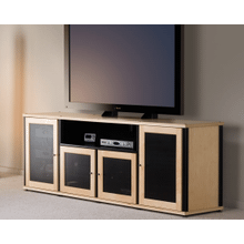 See Details - Synergy PM2 TV Mount for Quad-Width Cabinets, Black Posts
