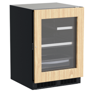 Marvel24-In Professional Built-In Refrigerator With 3-In-1 Convertible Shelf, Maxstore Bin And Reversible Hinge with Door Style - Panel Ready Frame Glass
