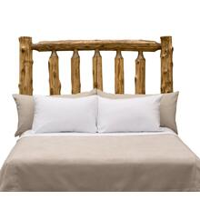 Traditional Headboard - King - Vintage Cedar