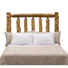 Traditional Headboard - Queen - Natural Cedar