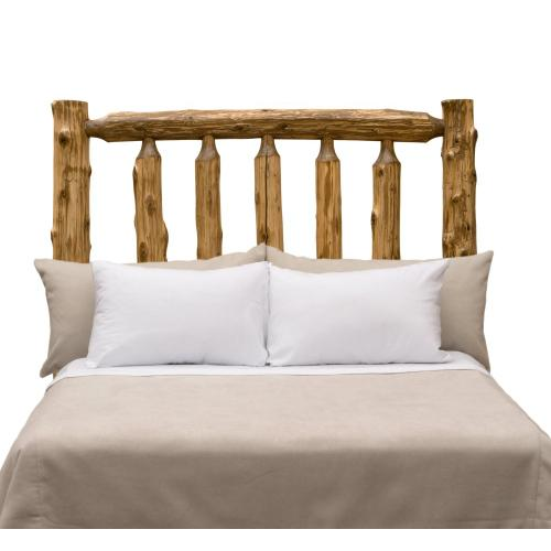 Traditional Headboard - Single - Vintage Cedar