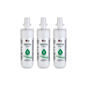 LG AppliancesLG LT700P® - 6 Month / 200 Gallon Capacity Replacement Refrigerator Water Filter 3-Pack (NSF42 and NSF53*)