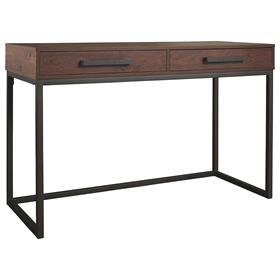 Horatio Home Office Small Desk Dark Brown