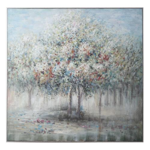 Fruit Trees Hand Painted Canvas