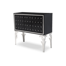 Hollywood Swank Sideboard Black Onyx
