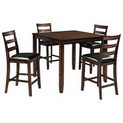 Coviar Counter Height Dining Room Table and Bar Stools (set of 5) Product Image