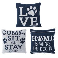 See Details - Mini Dog Knit Pillow (3 pc. ppk.)