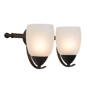 Mirror Lake Collection Two Lights Incandescent