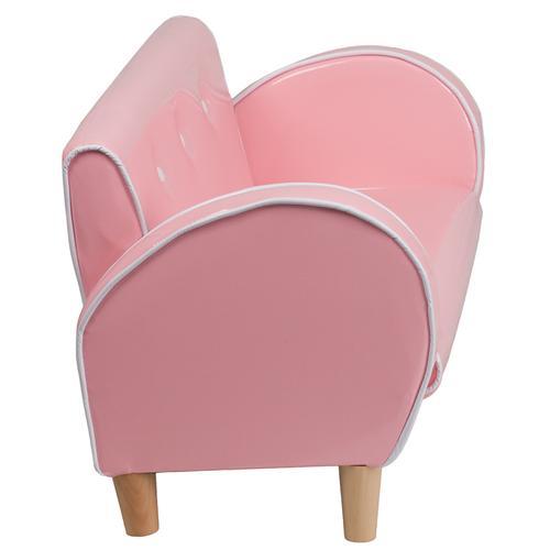 Kids Pink Loveseat