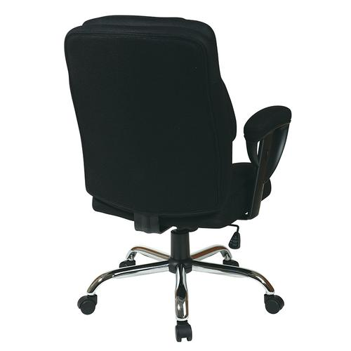 Executive Big Mans Chair With Mesh Seat and Back