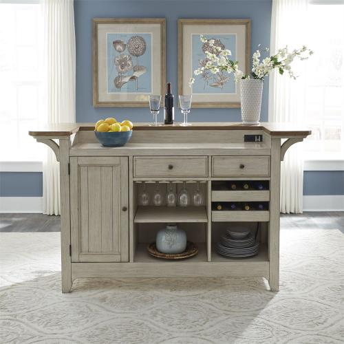 Liberty Furniture Industries - Bar w/ Marble Top