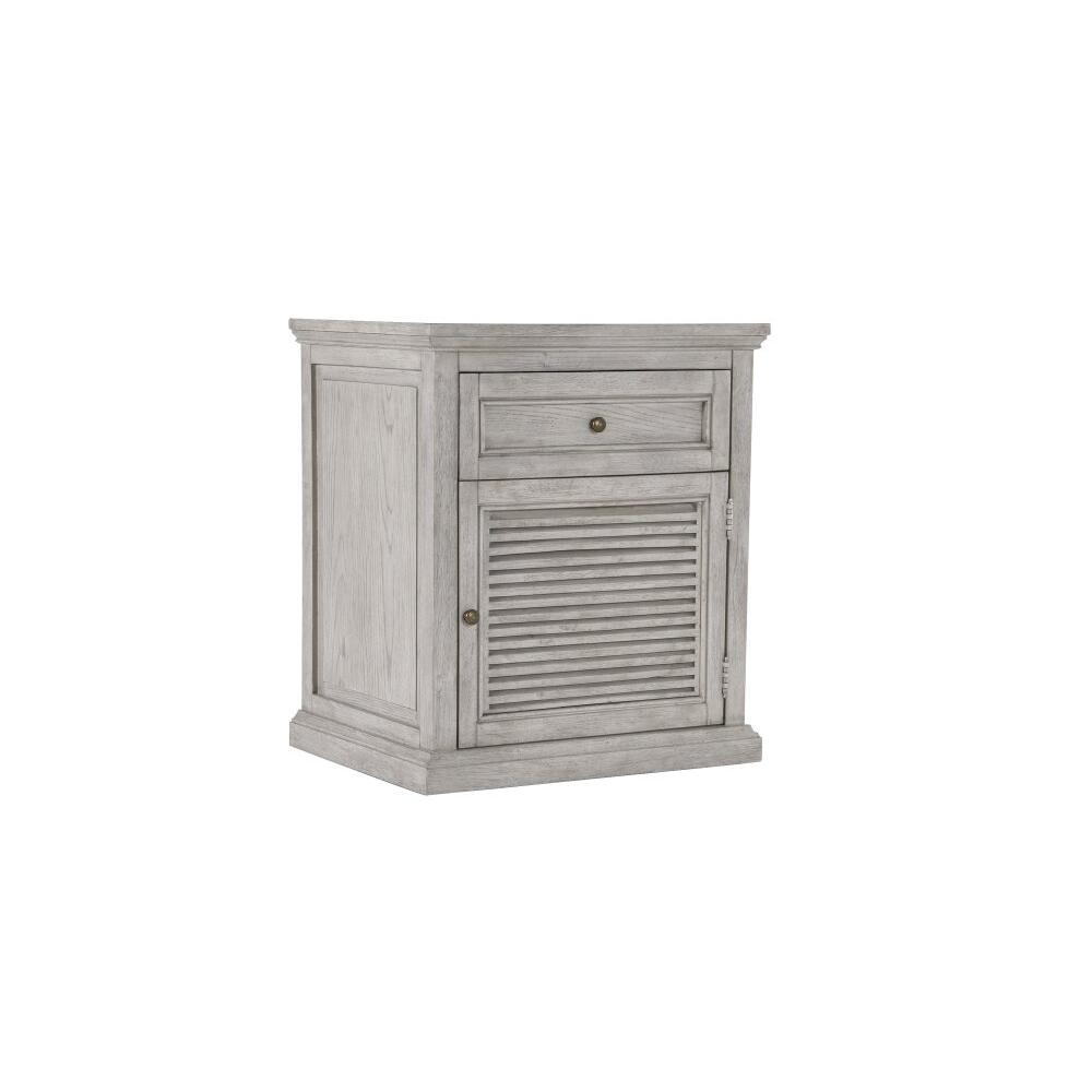 Emerald Home B506-04 Havenwood Nightstand, Gray